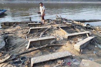Ini penampakan Kapal Onrust peninggalan Belanda yang tenggelam saat Perang Barito