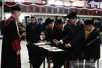 DPRD Kaltim sahkan pimpinan definitif