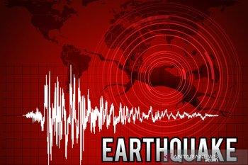 Gempa bumi kembali guncang Ambon Kamis pagi