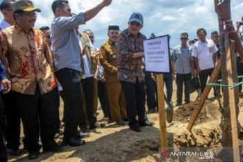 Wapres JK tinjau pembangunan huntap di Palu