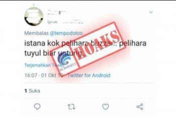 Menkominfo tidak akan tebang pilih dalam pemberantasan berita bohong