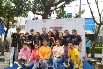 Puluhan warga Medan ikuti kegiatan Indonesia Menari 2019