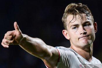 Liga Belanda - De Ligt merasa dirinya tidak terlalu istimewa di Juve