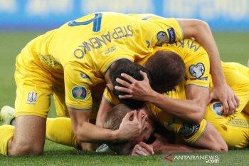 Hasil Grup B kualifikasi Piala Eropa, Ukraina lolos, Portugal dan Serbia bersaing menyusul