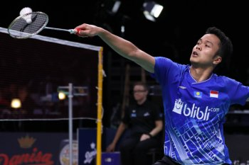 BWF Finals 2019: Anthony Ginting kalah