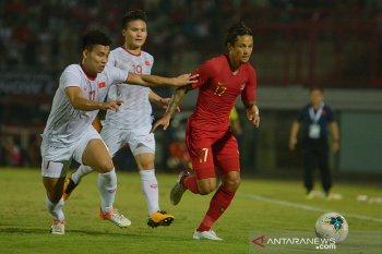 Indonesia dikalahkan Vietnam kualifikasi Piala Dunia