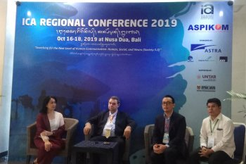 Di Bali, Konferensi Komunikasi ICA 2019 bahas masyarakat 5.0