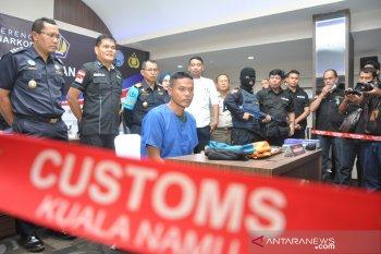 Bea Cukai Kualanamu gagalkan penyelundupan sabu dengan modus dimasukkan ke dalam anus