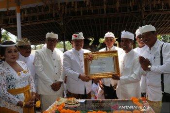 Wagub Cok Ace serahkan penetapan warisan budaya pada Desa Celuk