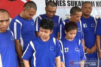 Wanita pengedar sabu-sabu jaringan lapas ditangkap Polres Sukabumi Kota