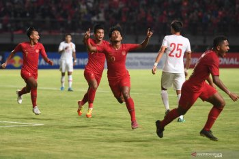 Timnas U-19 Indonesia lumat China 3-1