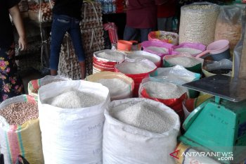 Harga sejumlah kebutuhan pokok di pasar tradisional Ambon stabil