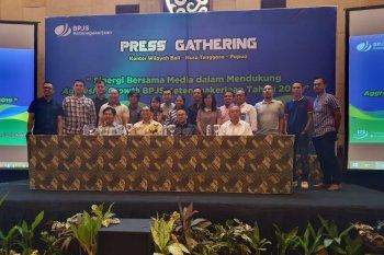 BPJS Ketenagakerjaan gandeng awak media ke Yogyakarta