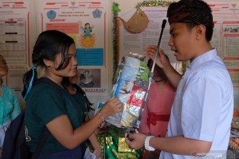 Program Gelatik, siswa SD di Bali dapat kumpulkan ratusan kilogram sampah plastik