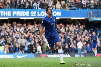 Liga Inggris - Gol semata wayang Alonso antar Chelsea kalahkan Newcastle