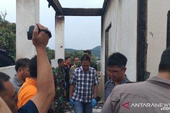 Asrama putra Papua terbakar di Tomohon