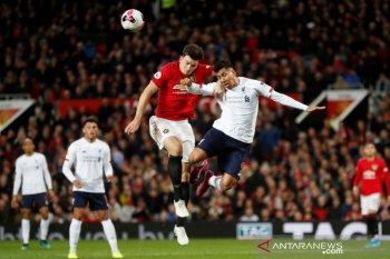 Hasil Liga Inggris, MU hentikan catatan sempurna Liverpool