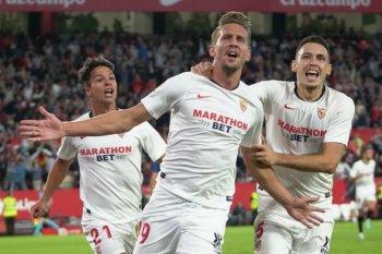 Sevilla tutup laga pekan kesembilan La Liga di posisi keenam