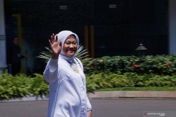 Ida Fauziah, santriwati yang ditugaskan urus ketenagakerjaan