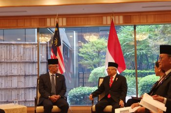 Saat bertemu Raja Malaysia, Wapres Ma