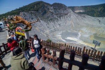 Wisata Gunung Tangkuban Perahu dibuka kembali