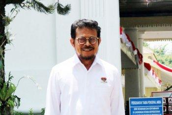 Mantan Gubernur Sulsel Syahrul Yasin Limpo diminta mengurus bidang pertanian
