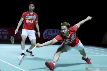 Marcus/Kevin menang mudah di Hong Kong Open