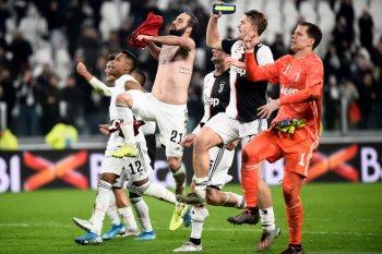 Klasemen Liga Italia, Juve rebut pimpinan klasemen dari Inter