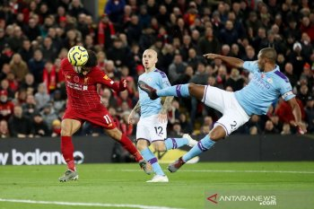 Hasil Liga Inggris, Liverpool menang telak  3-1 atas Manchester City
