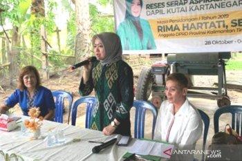 Warga Samboja keluhkan air bersih saat reses anggota Dewan