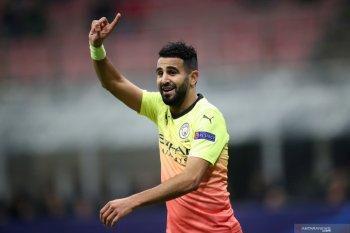 Pemain sayap Manchester City Riyad Mahrez akui pernah hampir gabung Arsenal