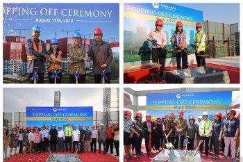 Meikarta rampungkan pekerjaan atap 10 tower di November 2019