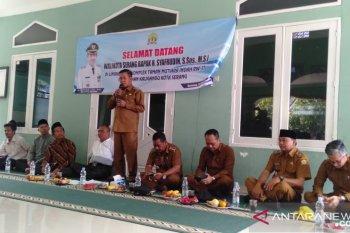 Walikota  Serang tinjau proyek pembangunan jalan TMI