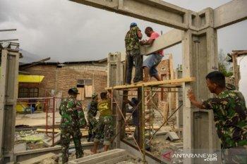 Pelibatan TNI dalam pembanunan Hunian Tetap