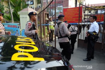 Teror bom di markas Korps Bhayangkara