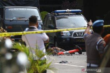 Grab berkoordinasi dengan pihak berwajib terkait pelaku bom Medan