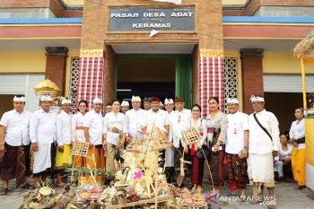 Bupati Gianyar resmikan pasar desa Keramas mirip mal