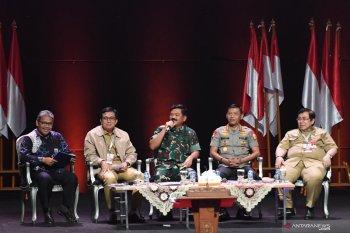 Panglima TNI nilai ancaman keamanan begitu mudah pada era 4.0
