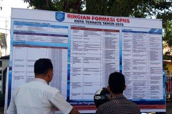 Pendaftaran CPNS di Malut masih sepi