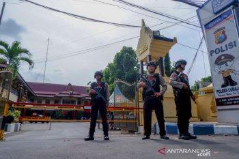 Polres Lumajang perketat penjagaan markas dan pos polisi