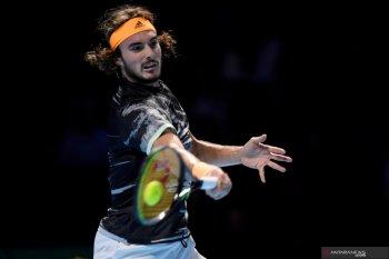 ATP Finals 2019: Tsitsipas rebut gelar usai kalahkan Thiem
