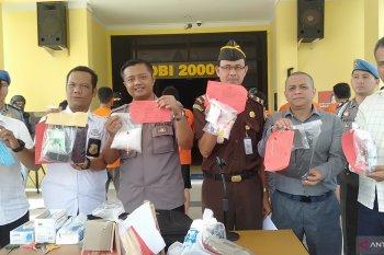 Barang bukti narkoba dimusnahkan Polres Singkawang