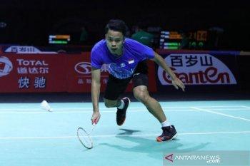 Anthony kalah dari wakil tuan rumah di final Hong Kong Open
