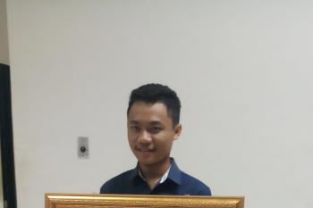 Siswa SMK asal Gianyar raih juara dua lomba melukis di Mabes TNI
