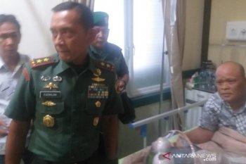 Pangdam I/BB berdialog dengan korban bom Medan