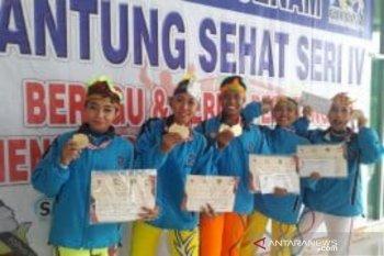 Jawa Timur sabet tiga emas lomba senam jantung Fornas