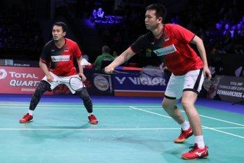BWF Finals 2019: Hendra/Ahsan amankan poin pertama dengan kalahkan wakil Malaysia