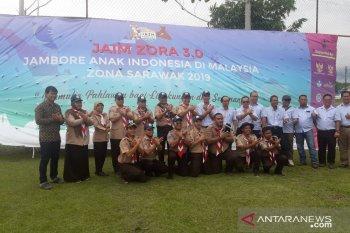 Pengurus Gugus Depan Gerakan Pramuka KJRI Kuching, Sarawak dilantik