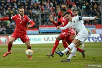 Ronaldo cetak gol internasional ke-99 saat Portugal dijamu Luksemburg