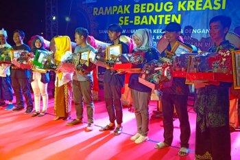 15 sanggar seni se-Banten tampil di parade rampak bedug kreasi